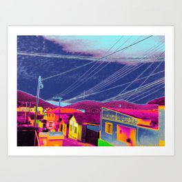 Infra-red Art Print
