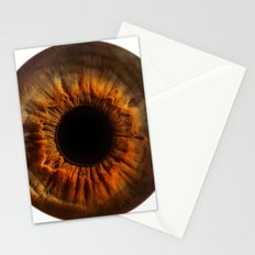 EYE Love to See You, Brown Eyes Stationery Cards