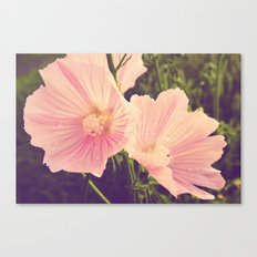 mauve after the rain Canvas Print
