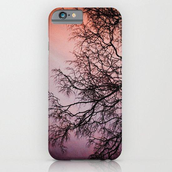 Purple & Fire iPhone & iPod Case