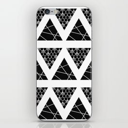 Split Diamonds Zentangle iPhone Skin