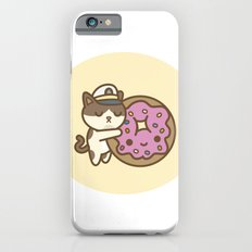Admiral Whiskers Hugs A Donut Slim Case iPhone 6s