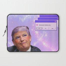 Kawaii Trump - Everyone Hates Me Laptop Sleeve