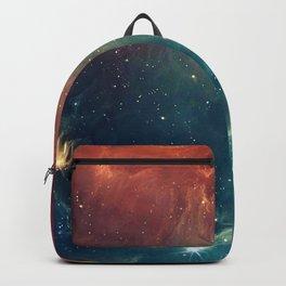 Cosmic Handlebar Mustache Backpack