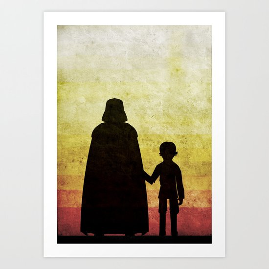 Darth Father's Day  Art Print