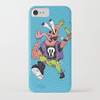 patrick iPhone & iPod Cases featuring Patrick by Liam Woodruff