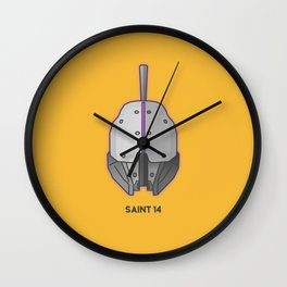 Loot#1 - Helm of Saint 14 Wall Clock
