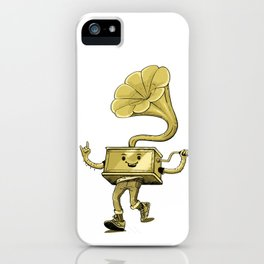 gramaphone iPhone Case