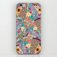 antique iPhone & iPod Skins featuring SEEING SOUND by Bianca Green