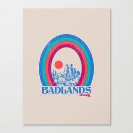 Badlands AZ Canvas Print