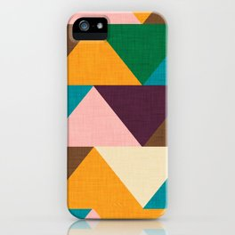 Kilim Chevron iPhone Case