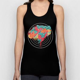 BRAIN WAVES Unisex Tank Top
