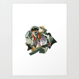 Exilio Art Print