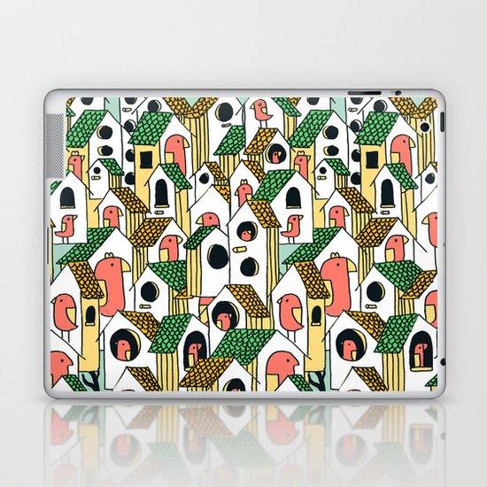 Bird houses Laptop & iPad Skin