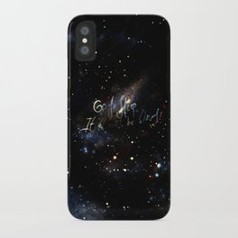 go to sleep,it'll be okay iPhone Case