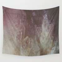crystal Wall Tapestries featuring Crystal by Neon Wildlife