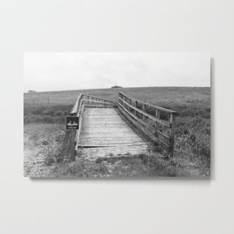 Bridge.  Metal Print