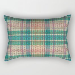 Mild Autumn Plaid Rectangular Pillow