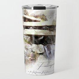 Falingwater Watercolor Travel Mug