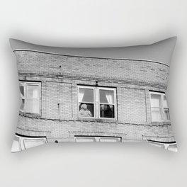 Marilyn is Watching Rectangular Pillow