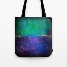 Untitled purple and green Tote Bag