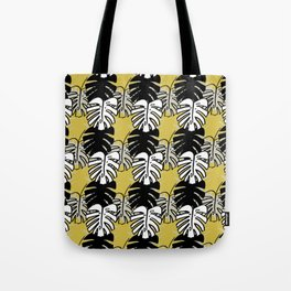 Monstera Print Tote Bag