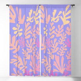 """Collage of Leaves, #41,""""Sunrise"""" by Henri Matisse Blackout Curtain"""