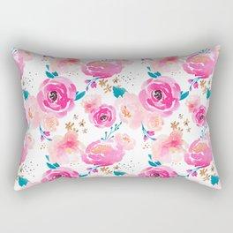 Indy Bloom Design Punchy Florals Rectangular Pillow
