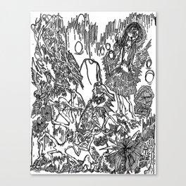 Arches- B&W Canvas Print