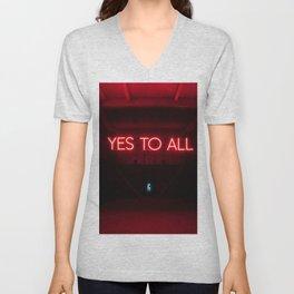 Yes To All Unisex V-Neck