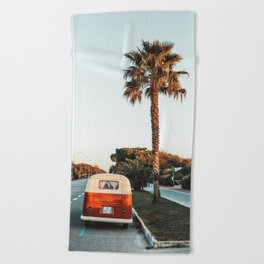 Summer Road Trip Beach Towel