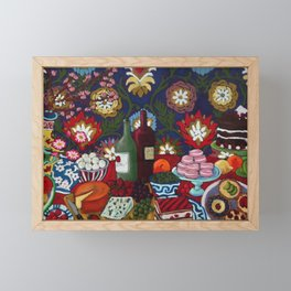 Tablescape Framed Mini Art Print