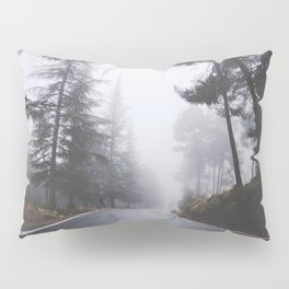 Dream forests. Into the foggy woods Pillow Sham