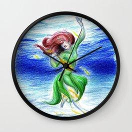 Water Spirit Wall Clock