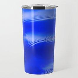 Ocean Decor, Home & Accessories, Waves, Blue, Art Prints, Wall Art Travel Mug