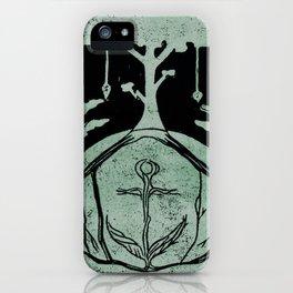 Grounding (Black) iPhone Case