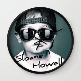 Sloane Howell Wall Clock