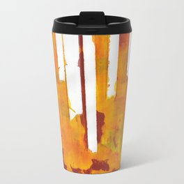 Stripes and Patches Travel Mug