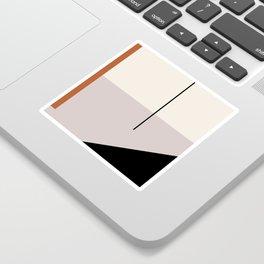abstract minimal 28 Sticker