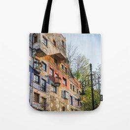 Hundertwasserhaus Vienna Austria Tote Bag