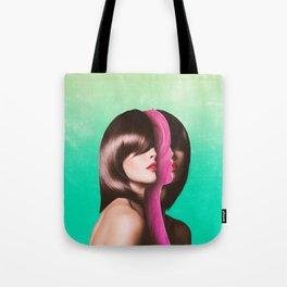 Split Hairs Tote Bag