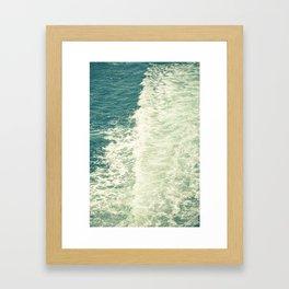 Sea Adventure - Ocean Crossing III Framed Art Print