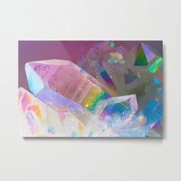 Opal Aura Quartz Crystal 1 Metal Print