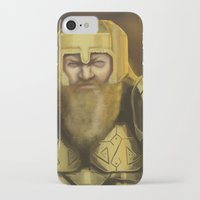warcraft iPhone & iPod Cases featuring Scowl by Georgia Goddard