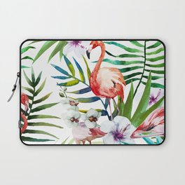 Tropical flamingo Laptop Sleeve