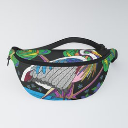 Night Heron Fanny Pack