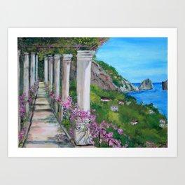 Capri, italy Art Print
