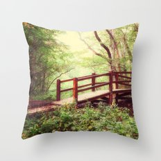 To the Forest Fairy Throw Pillow