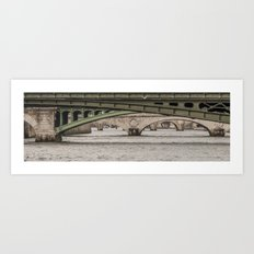 Bridges on Bridges Art Print