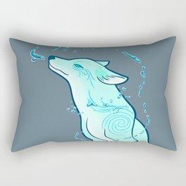Water Fox Spirit Rectangular Pillow